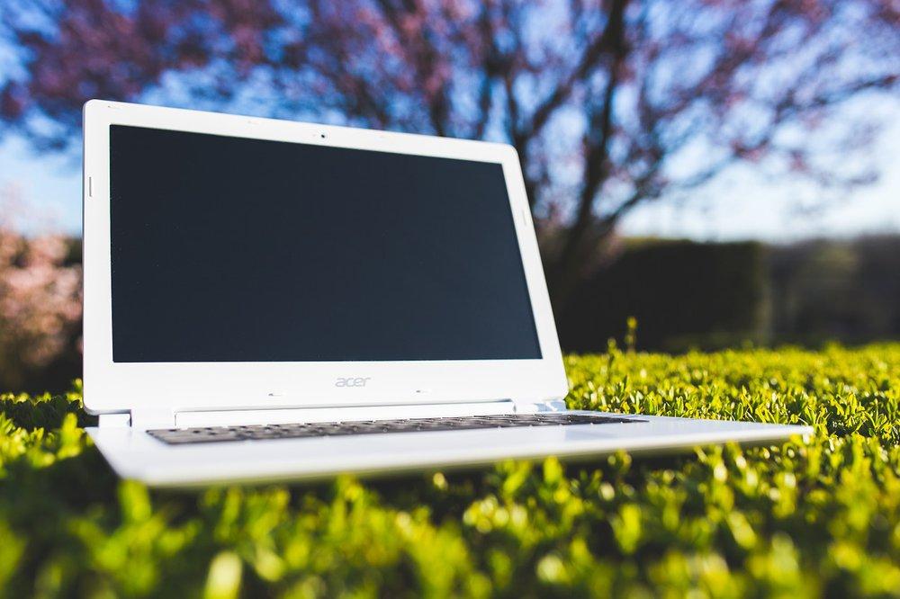 Laptop Umwelt