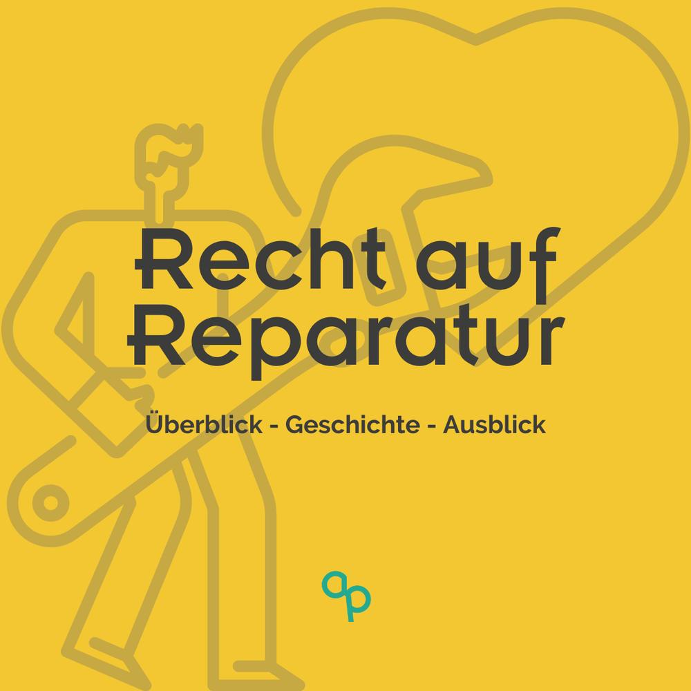 Recht auf Reparatur Blog